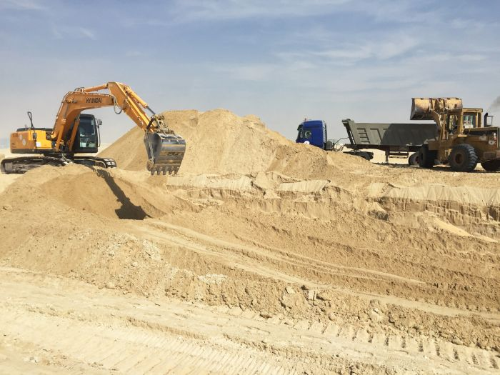 Development Step Supply Of Sand Marl Basecorse